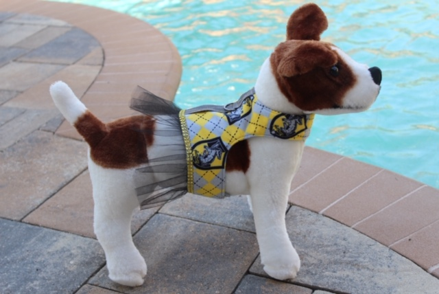 Stelli & Kingsley - Custom Puppy Harnesses